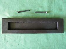 Façade boîte aux lettres occasion fer largeur 25 cm hauteur 6,4 cm