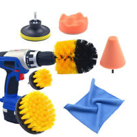 Electric Cleaning Drill Brush Polishing Cone Sponge Rag Tile Wheel Cleaner Tools