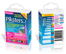 Piksters Interdental Dental Reusable Brushes - 40 Pack **All Sizes Available**