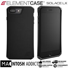 Element Case SOLACE LX Genuine Leather Case For iPhone 8 PLUS / 7 PLUS BLACK