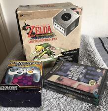 Nintendo Gamecube Console - The Legend of Zelda Windwaker - Limited Edition PAL