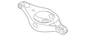 Genuine Nissan Lower Control Arm 551B0-5AA0A