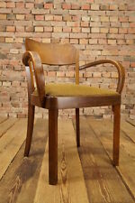VINTAGE 1930s CHAIR Armchair Art Deco Wooden chair Bauhaus 20s Office chair