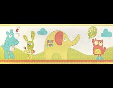 *Peel & Stick* Fly Up High Childrens Wallpaper Border (BO50064)