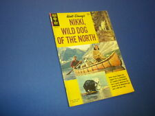 Nikki, Wild Dog Of The North 10141-412 Gold Key movie classic 1961 Walt Disney