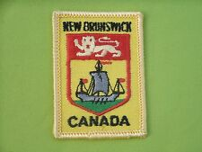 New Brunswick Canada Souvenir Travel Patch