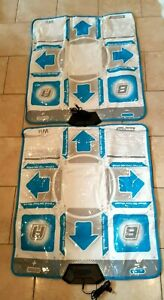 2 Nintendo WII Konami Show Me Your Moves Dance Pad (Only The Mats)