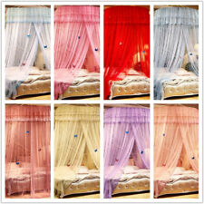 Princess Girls Dome Mosquito Net Bed Canopy Butterfly Home Bed Lace Decor
