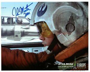 JOHN MORTON signed Autogramm 20x25cm STAR WARS In Person autograph COA DAK
