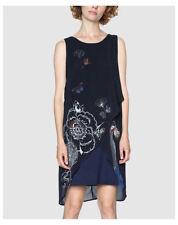 Blu 40 Desigual Vest Natan Vestito Donna (navy 2000) Abbigliamento (k8t)