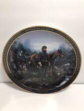Bradford Exchange Plate - Stonewall Jackson - Gallent Men of the Civil War