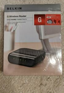 Belkin G Wireless Router Home Internet Router Factory Sealed New Free Shipping!