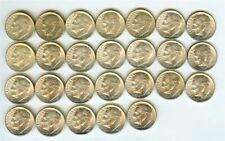 ROOSEVELT SILVER DIMES 1955 26 PIECE LOT BRILLIANT UNCIRCULATED