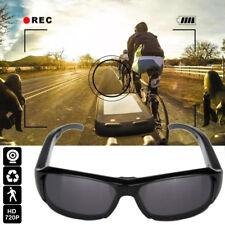HD Polarized Video Camera Sun Glasses Digital Audio Recorder DV Camcorder TF