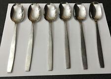Vintage VINERS 6 X CHELSEA 18/8 Stainless Steel 19cm Dessert Spoons Cutlery
