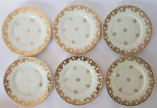 Six Dinner Plates Limoges Porcelain