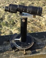 Vintage U.S. Navy Pelorus Drift Sight w/ M77G Telescope Spotting Scope