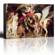 """Wall26 - Oil Painting of """"Perseus and Andromeda"""" - Canvas Art Home Decor - 24x36"""