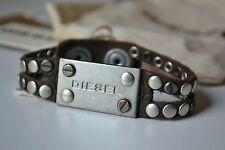 Diesel AVITE Unisex Armband ASITT Bracciale Used look Neu Leder Leather