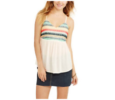 fa7265e072e6b No Boundaries Juniors  Striped Empire Waist Tank Top Size XXL ...