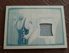 The Big Show 2015 Topps WWE Wrestlemania 31 Mat Relic Printing Plate 1/1 1 of 1