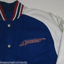CFL Montreal Alouettes Football Winter Coat Reebok Varsity Wool YOUTH Size Large