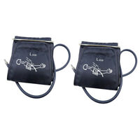 2x Adult Size Blood Pressure Replacement Cuff Arm Sphygmomanometer Accessory