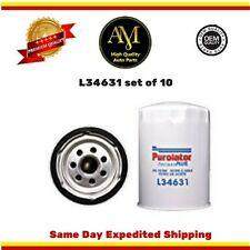 L34631 Oil Filter Set of 10 Chevrolet P301500 Savana 3500 C3500HD 6.5L7.4L