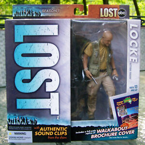 ABC LOST SERIES 1 2006 McFARLANE ACTION FIGURE JOHN LOCKE TERRY O'QUINN NIB