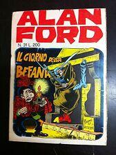 ALAN FORD n° 31- Editoriale Corno