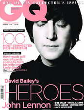 GQ UK 3/2014 DAVID BAILEY'S HEROES: JOHN LENNON Jessica Pare KARLIE KLOSS @New@