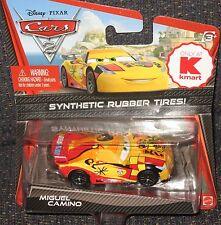 Disney Pixar carsSp Ed Kmart Miguel Camino  Rare Rubber tires