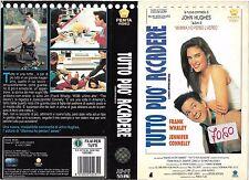 TUTTO PUO' ACCADERE (1991) vhs ex noleggio