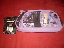 Hannah Montana Schlamperetui / Faulenzer / Federmappe lila (Neu) (LA)