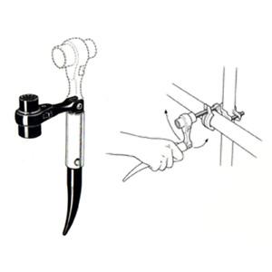 17/21mm Folding Podger