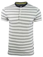 Mens T-Shirt By French Connection/ FCUK Jeffreys Bay Stripe Short Sleeved