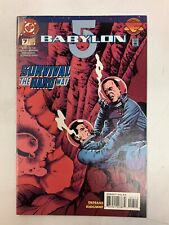 Babylon 5 Survival The Hard Way Dc Comic Book August1995 Issue#7 Dehaas Ridgeway