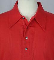 VTG 60's/70's Men's '909 Collection' Long-Sleeve Henley Button Shirt Size L EUC