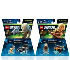 Lego Dimensions Lord of the Rings Legolas & Gollum 71218 -71219 Building Toy