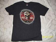 Harley Davidson Motorcycle Men's MEDIUM BLACK / CHARCOAL SPEED POWER SHIRT