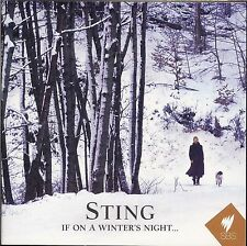 Sting If On A Winter's Night... CD NEW Gabriel's Message Soul Cake Balulalow