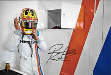 Rio Haryanto signé 12x8 Manor Racing Team Portrait, F1 Test Barcelona 2016