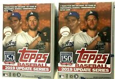 Topps 2019 MLB Update Update Baseball Trading Card Blaster Box (7 Packs + 1 Patch Card)