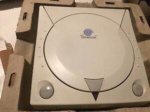 Sega Dreamcast Console In Original Packaging Pre Owned + All Connecting Cables