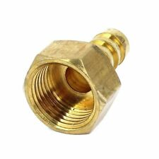 12mm Hose Barb 1/2BSP Female Thread Quick Joint Connector Adapter Gold T4G4