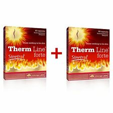 OLIMP Therm Line Forte 120 Capsules (2x60) FAT BURNER FOR MEN, WEIGHT LOSS PILLS