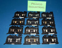 Lot of 12 1492-H Fuse Holder Terminal Block 500Volt with White LED Indicator