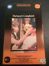 Portnoys Complaint Beta Tape (1972) Betamax Rare Big Box