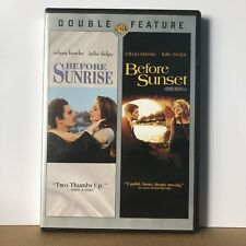 Before Sunrise / Before Sunset Dvd Double Feature Region 1 Canada