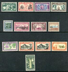 NEW ZEALAND 229-41, 1940 REGULARS (SCENES), MNH  (NZ019)